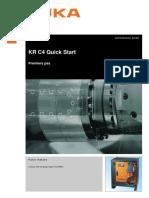 KRC4 Operating and Programming Instructions QuickStart Fr