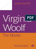 [Analysing Texts] Nicholas Marsh (auth.) - Virginia Woolf_ The Novels (1998, Macmillan Education UK)
