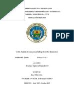 Informe Rio Tandacato