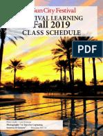 Festival Learning Fall Class 2019