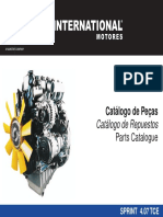 Catalogo de Peças Mwm Sprint Eletronica 2.8