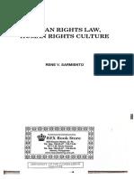 Human Rights Law - Sarmiento