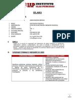 SÍLABO PROYECTO INVEST INNOV TECNOL 2019 I.docx