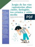 Alergia de Las Vias Respiratorias Faringitis,Altas Sinusitis, Otitis