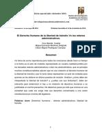 16. Dr Juan José GarcíaEl Derecho Humano de La Libertad de Tránsito vs Los Retenes Administrativos.(1)