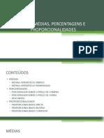 u12 – Médias, Percentagens e Proporcionalidades