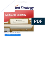 ClearPoint Financial Measure Library
