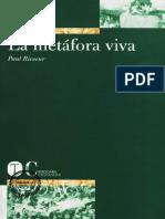 Ricoeur Paul - La metafora viva.pdf