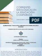 Corrientes Ideológicas en La Educación Comparada