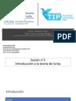 Derecho Civil 1.1 Teoría de La Ley (Sesión 2)