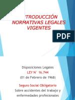 NORMATIVAS LEGALES VIGENTES