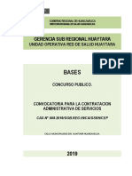 Red de Salud Huytara 9 Octubre Op. Pad