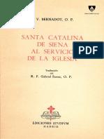 Santa Catalina de Siena al servicio de la Iglesia - P. Bernadot OP.pdf