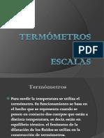 Termómetros y EScalAs