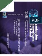 Pruebas Estadisticas OPS Estudios Observacionles