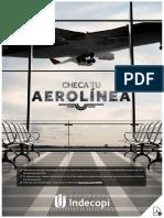 Guía digital 'Checa tu aerolínea' de Indecopi