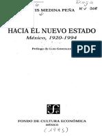 Índice nuevo estado Mexico