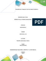 Actividad 1 - Presentar Trabajo de Reconocimiento.