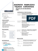 CV Fabrizzio Tecada