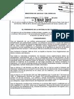 Decreto 356 Del 03 de Marzo de 2017