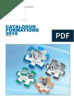 Brochure Formations 2019 - YASKAWA France Sans Tarification Pour Mise en Ligne