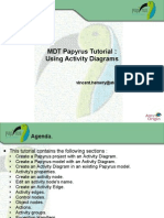 Papyrus Tutorial On Activity Diagrams v0.1 d20101014