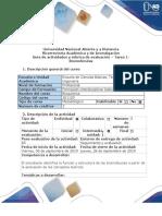 Guía de actividades y rúbrica de evaluación – Tarea 1- Biomoléculas.DOC