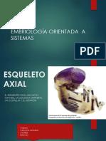 Embriología Orientada a Sistemas Musculo Esqueletico 2