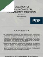 Fundamentos Metodológicos Del Ordenamiento Territorial