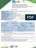 Guia de Actividades y Rubrica de Evaluación - Fase 2 - Identificación de La Problemática y Alternativas de Solución