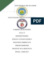 LA CANASTA BÁSICA Y LOS PRECIOS DE LOS PRODUCTOS DE PRIMERA NECESIDAD.docx