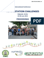 Reforestation Challenges - Proceedings