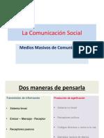 La comunicacion Social