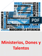 Ministerios, dones y talentos 2 x 30.ppsx