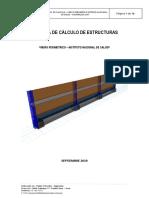 Memoria de Calculo Estructuras Muro INSTITUTO NACIONAL DE SALUD