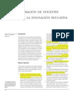 Formación de Docentes Para La Innovación Educativa (1)