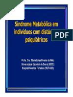 Palestra Síndrome Metabólica Em Pacientes Psiquiátricos