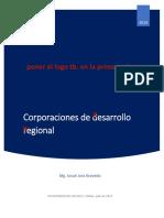 Corporaciones de desarrollo regional