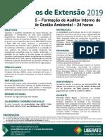 191004 ISO 14001-2015 SGQ Auditor Interno de Meio Ambiente
