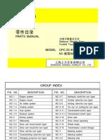 Manual de Peças CPCD40 XINCHAI