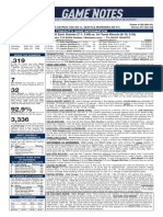 09.25.19 Game Notes