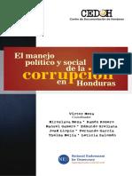 EL MANEJO POLÍTICO Y SOCIAL DE LA CORRUPCIÓN