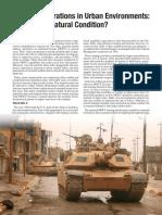 Armor & Urban Ops