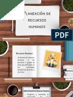 Planeacion de Recursos Humanos