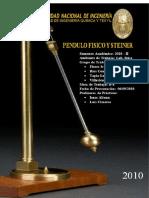 Fisica II Pendulo Fisico y Teorema de Steiner