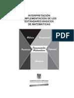 Interpretacion e Impl Estandares Mat