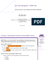 6-4 International Contracts, Cost Analysis and Payment Methods