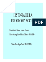 historia psico social