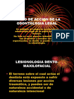 CAMPO DE ACCION DE LA ODONTOLOGIA LEGAL.ppt