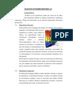 Informe INTERCONEXIONES HEMISFERICAS